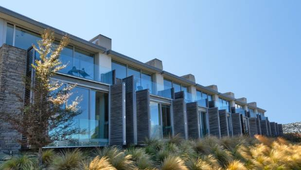 The Pounamu apartments in Queenstown are now under management of a company owned by wealthy Gavin Faull.