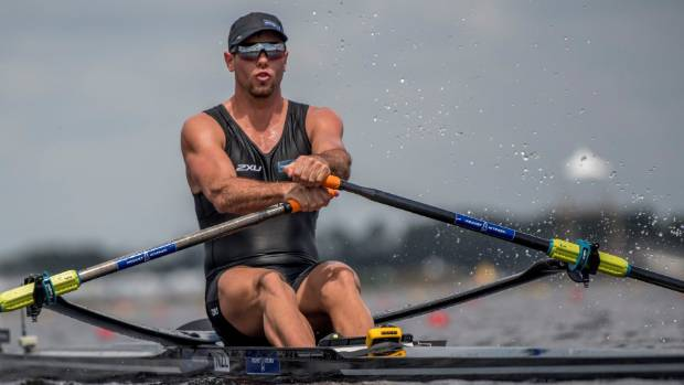 Robbie Manson wants to be NZ's men's single sculler at the 2020 Tokyo Olympics.