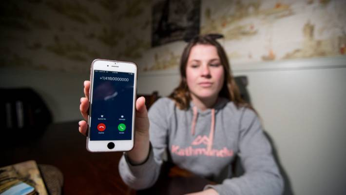 Canadian-based callers hitting New Zealand mobile users with scam