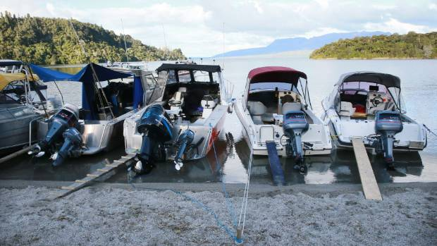 Hundreds of anglers ready to go for the opening of the Trout Fishing Season at Lake Tarawera.