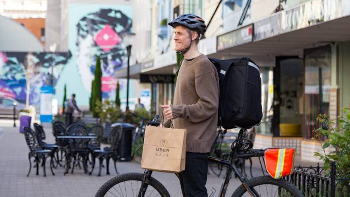 Uber Eats heats up Christchurch's food delivery scene