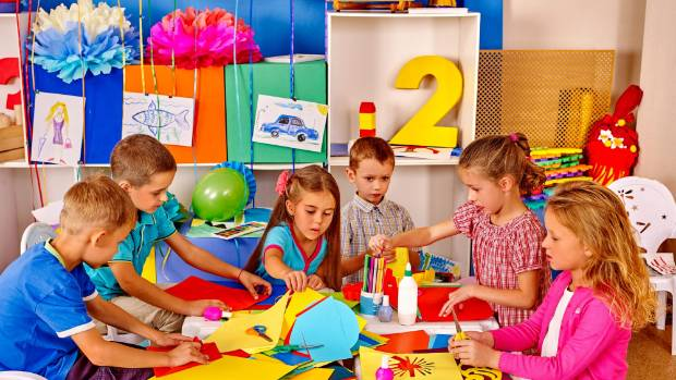 Colorfully decorated classrooms can impair learning, study says ...