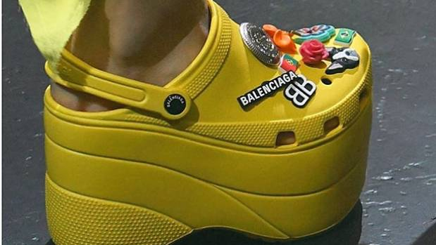Image result for balenciaga x crocs