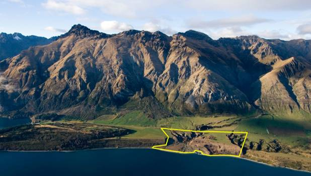 A property at Walter Peak, Queenstown, has been sold to an overseas buyer who says he plans to become a New Zealand resident.