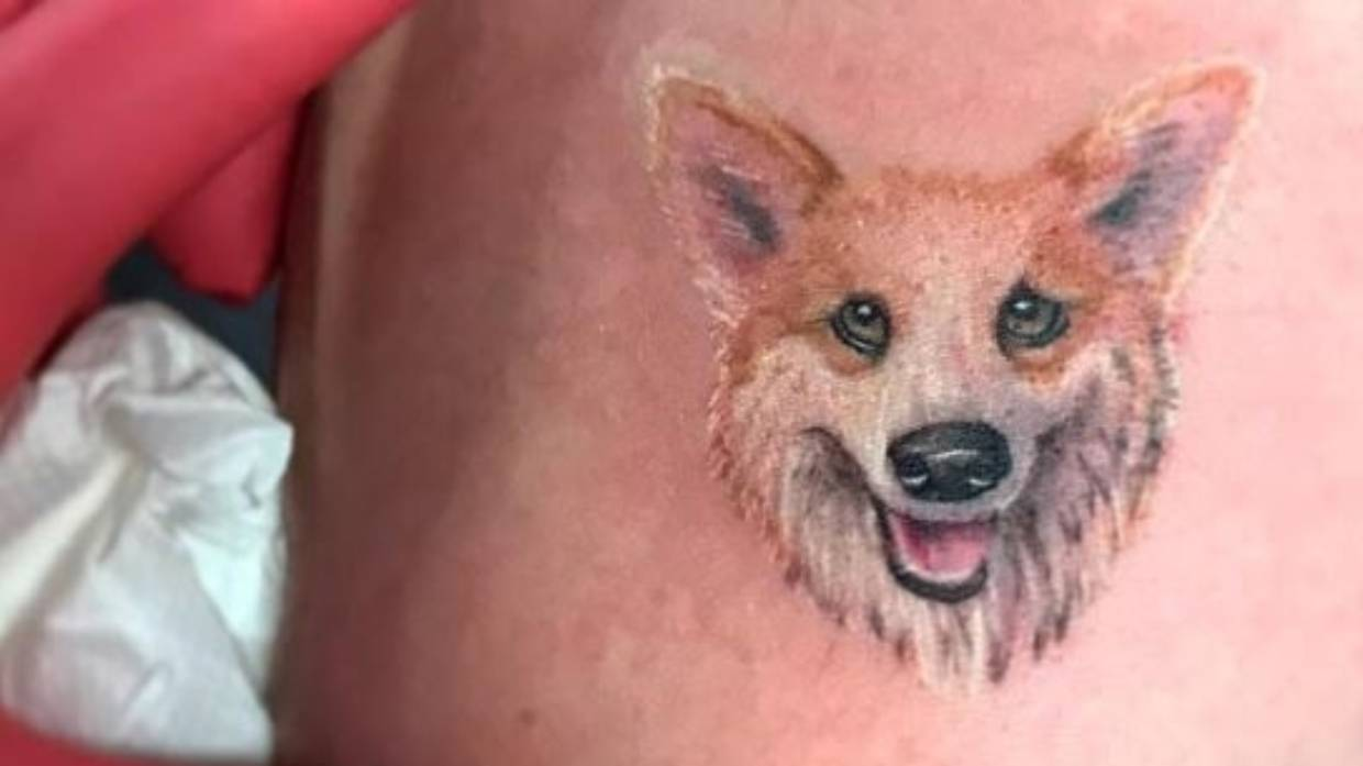 9b5ea9d44 Tattoos with ash in ink the new way to remember pets | Stuff.co.nz