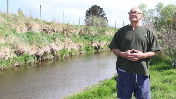 Mataura and Districts Marae chairman Terry Pohatu at the Waimumu Stream, where a hydroelectric power plant could be ...