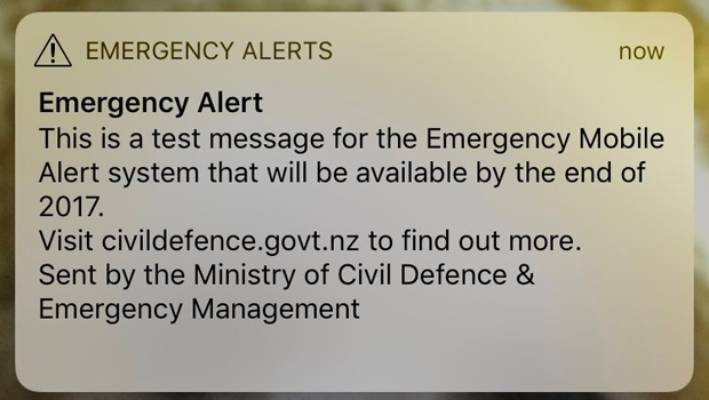 Early morning Civil Defence mobile alerts anger sleep-interrupted