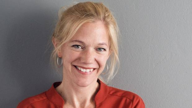 Author Maja Lunde.