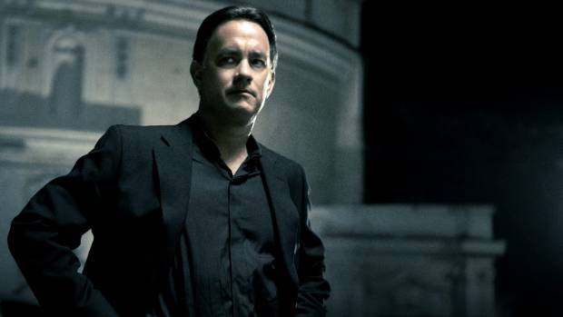 Robert Langdon (Tom Hanks, shown here in a scene from Angels and Demons) could probably do with a break, says author Dan ...