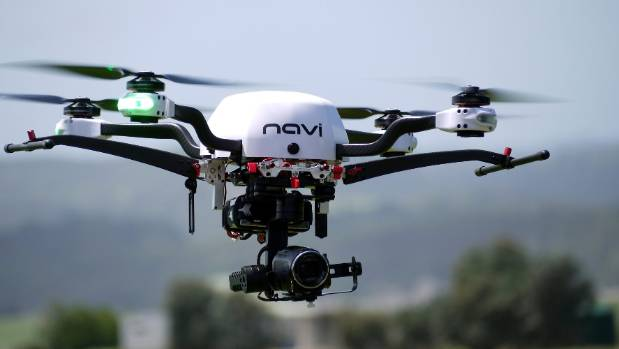 Lasers attached to drones may one day be used on farms to kill weeds.