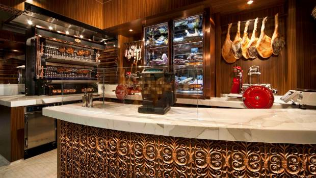 At Victor Churchill's charcuterie counter, artisanal meats from around the globe vie for customers' attentions.