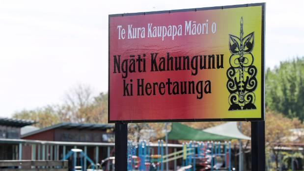 Te Kura Kaupapa Maori o Ngati Kahungunu ki Heretaunga, in Bridge Pa, where the 10-year-old boy fatally injured in a ...