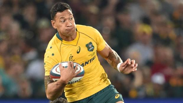 Australia rugby star Israel Folau's anti-gay comments spark outrage