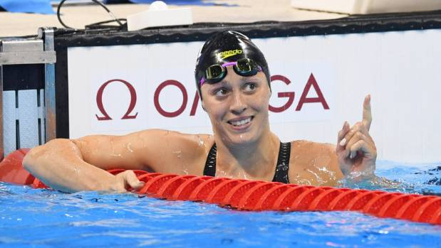 Sophie Pascoe's fine form at national short course swimming championships continues.