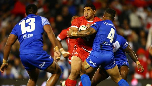 Jason Taumalolo played for Tonga in the 2013 Rugby League World Cup.