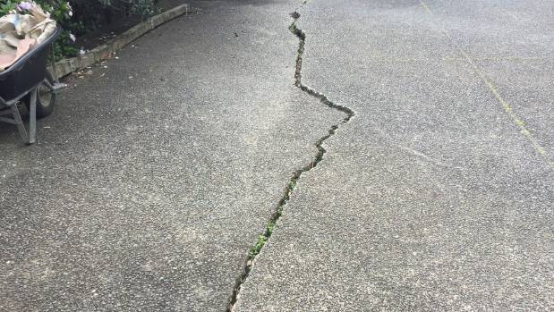 Clement Cattell says the crack first appeared in 2006 and has been growing.