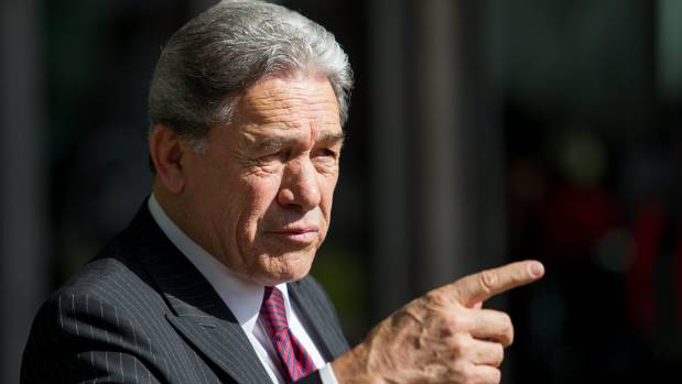 Winston Peters says he's always focused on the four things that will ultimately improve the lives of Māori.