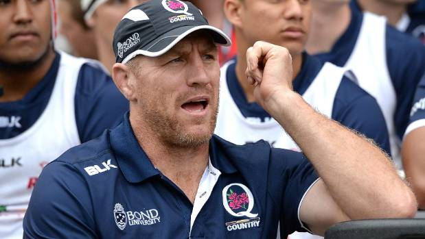 Dual global Brad Thorn to coach Reds in Super Rugby