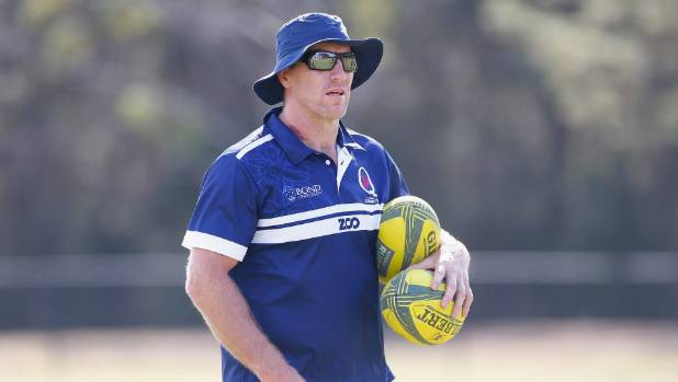 Brad Thorn has been coaching Bond University Queensland Country in the National Rugby Championship in Australia.