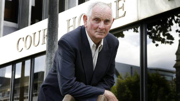 Arthur Allan Thomas was twice convicted of the Crewe murders and spent nine years in prison before being pardoned in 1979.