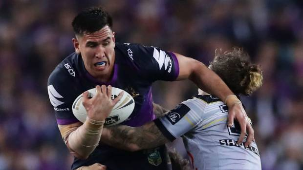 There is plenty of excitement around Melbourne giant Nelson Asofa-Solomona.