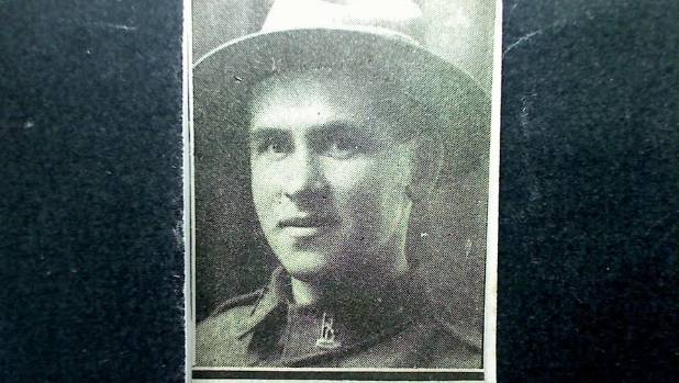 Sydney Jordan's entry into the Roll of Honour after his death on October 12, 1917.