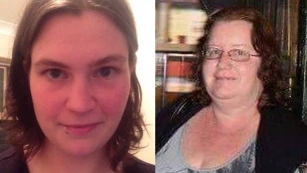 Emma Lilley, left, and Trudi Lenon are on trial for the murder of 18-year-old Aaron Pajich.