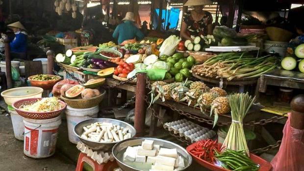 Incredible food on offer at Hoi An Market