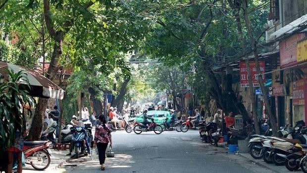 """Hanoi """"a strange, frenzied place""""."""