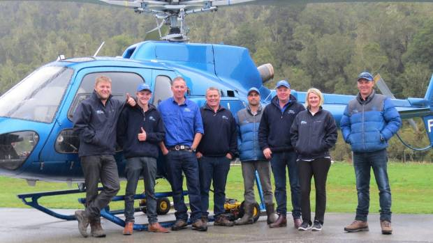 The base for the Glacier Country Helicopters Ltd crew is protected by the Waiho loop.
