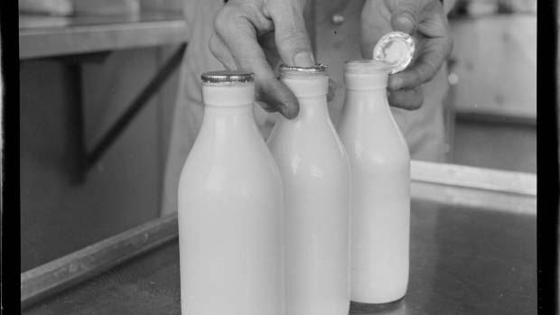 Customers in Nelson are enjoying milk delivered to the gate in glass the old-fashioned way.