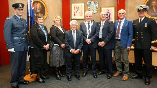 Airforce and naval uniforms helped set the scene when civic honours were presented at Marlborough District Council on ...