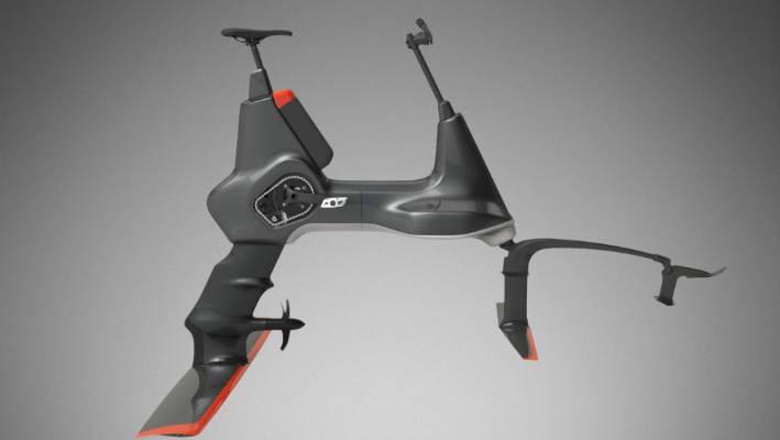 Hydrofoil Water Bike To Launch Before Christmas Stuff Co Nz