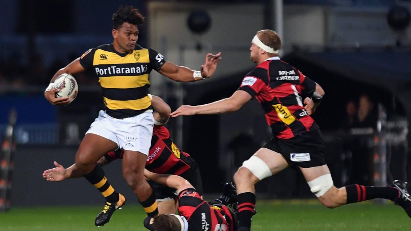 Recap: Canterbury v Taranaki - Ranfurly Shield clash, Mitre 10 Cup week eight