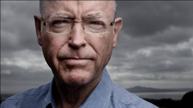 Deeply relevant former politician Don Brash. — Photograph: David White.