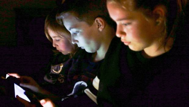 Feilding mum-of-four Hilary Humphrey said parents had to stay on their toes to monitor digital device use. The Humphrey ...