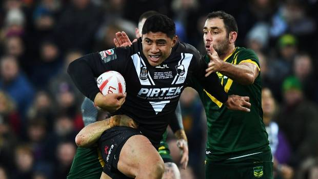 Jason Taumalolo will be lining up against the Kiwis at the World Cup.