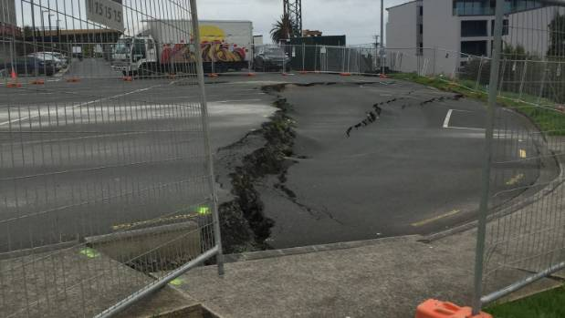 A land subsidence in a Birkenhead car park has worsened dramatically in the past 12 days.