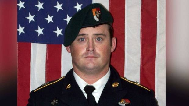 Staff Sgt. Dustin Wright was killed in the ambush