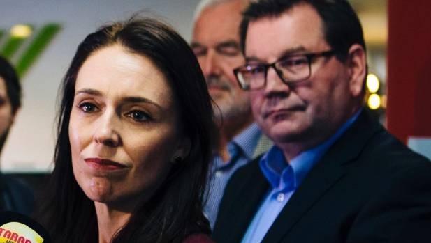 Asked whether she had enjoyed a meal at the Green Parrot on Wednesday night - a favourite haunt of Peters - Ardern noted ...