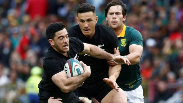 Nehe Milner-Skudder impressed with his ball skills and speed before suffering a shoulder injury in Cape Town.