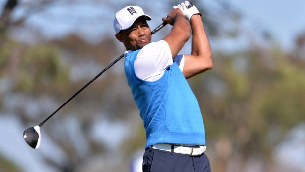 Tiger Woods hasn't played since the Farmers Insurance Open in January.