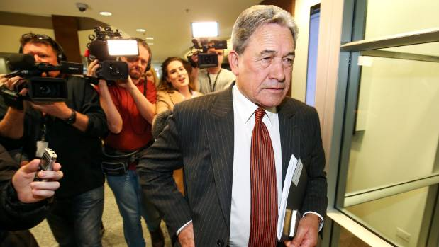 "Winston Peters said the talks were dealing with things ""policy by policy"" because that's what ""really matters""."