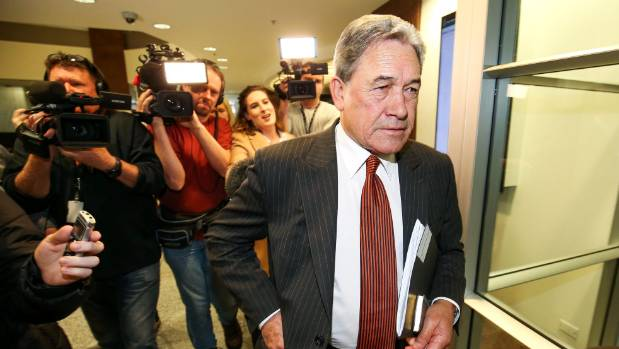 "To keep the show relevant, Winston Peters was encouraged to join ""Team Ardern""."