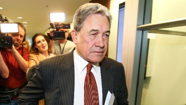 Winston Peters dismisses idea of meeting with Greens