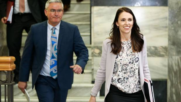 Jacinda Ardern Update: Labour's Jacinda Ardern Sticks To Script On Coalition