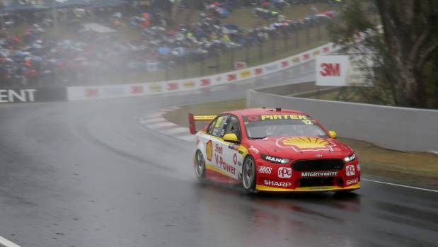 Fabian Coulthard and Tony D'Alberto's Shell Penske Ford.