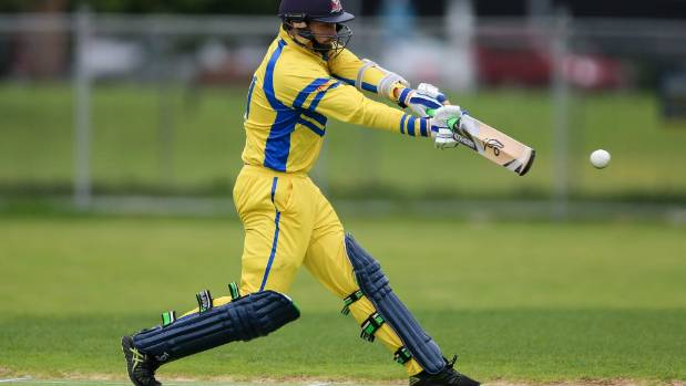 Takapuna's Robbie O'Donnell was his side's top scorer in round one of the Jeff Crowe Cup - limited overs championship ...