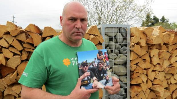 Liam Booth's father, Geoff, hopes that by sharing the family's story, they can prevent another family going through the ...
