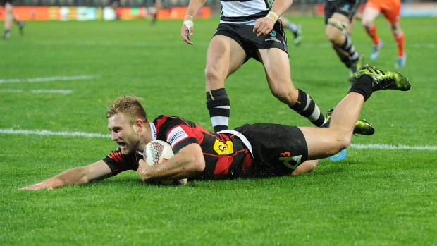 Braydon Ennor is having a standout first season of Mitre 10 Cup rugby, leading the tryscoring counts.